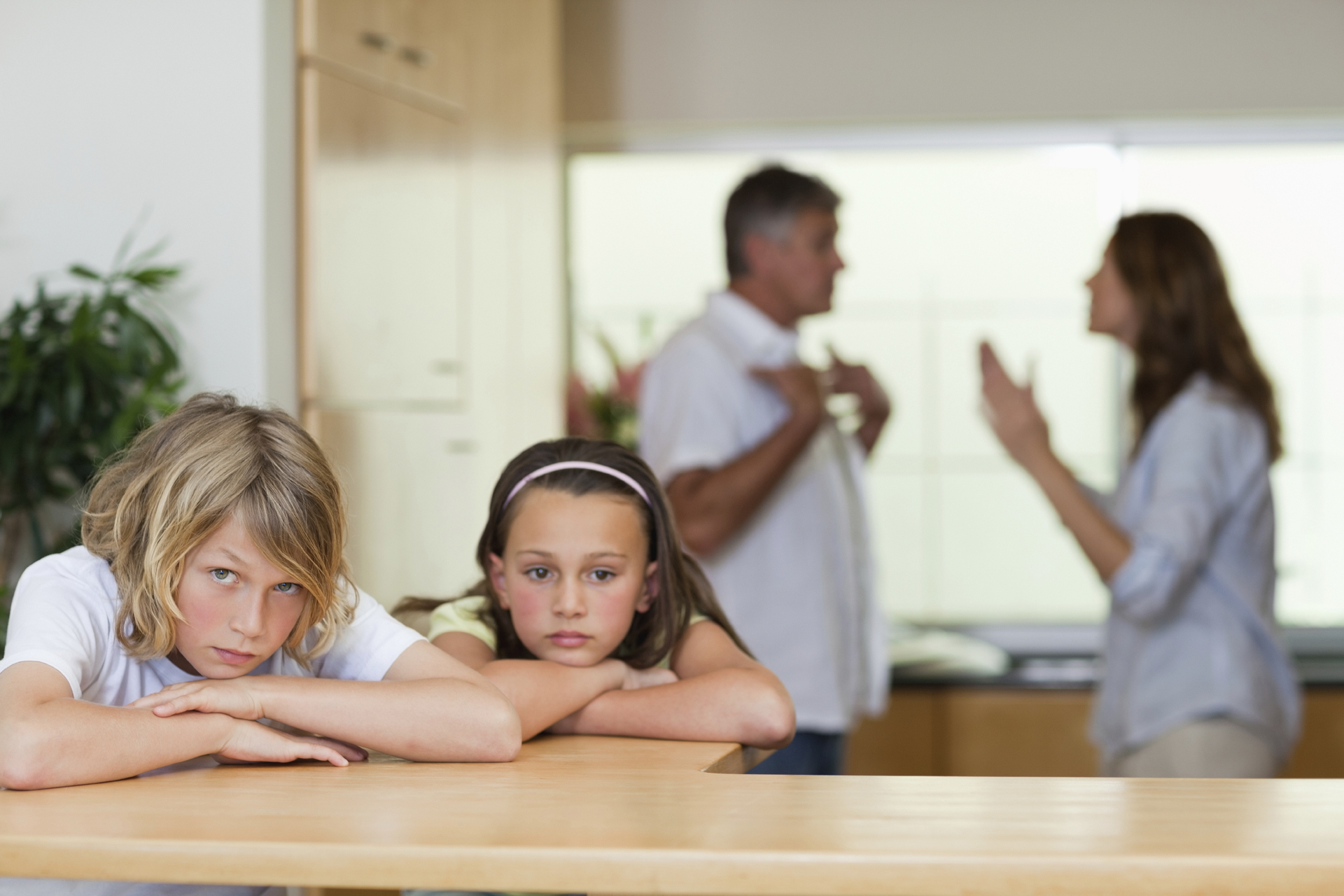 Don't let your children suffer your marital problems